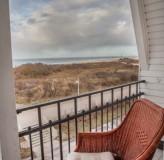 App 12 - Blick vom Balkon Richtung Hafeneinfahrt