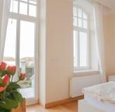 App 2/3 - Schlafzimmer in Richtung Ostsee (DZ3)