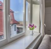 App 6/7 - Blick aus dem Wohnzimmerfenster
